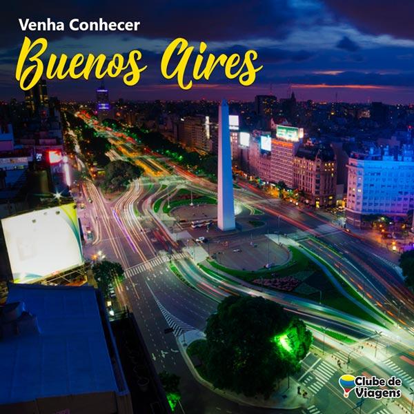 Artes para redes sociais Venha Conhecer Buenos Aires