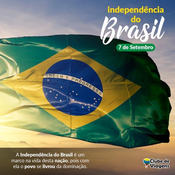 Artes para redes sociais Independência do Brasil