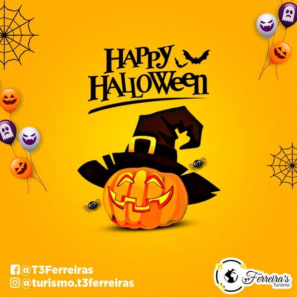 Artes para redes sociais Halloween